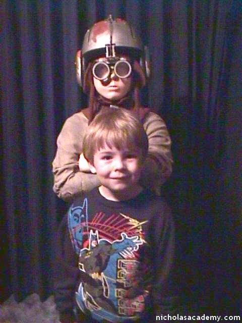 Alex with Anakin Mannequin