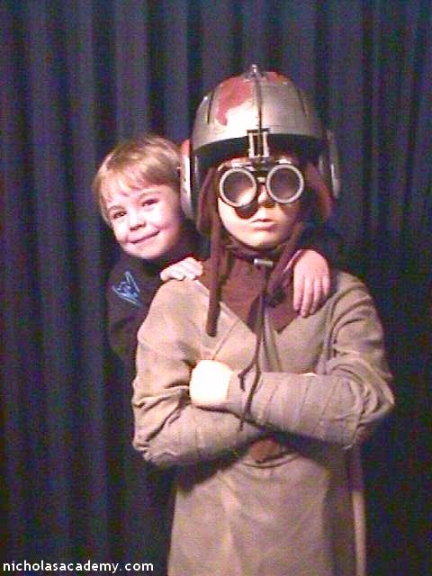 Alex and Anakin