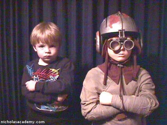 Alex with Anakin Skywalker