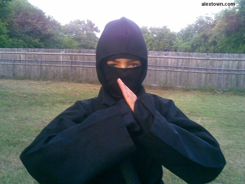 A Ninja Pose